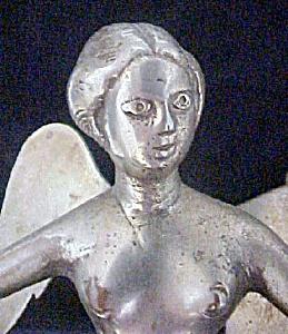 Antique Metal Angel Newel Post Top (Image1)