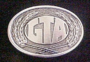 GTA First Edition Metal Belt Buckle (Image1)