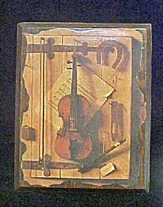 Musical Still Life - Decoupage Style (Image1)