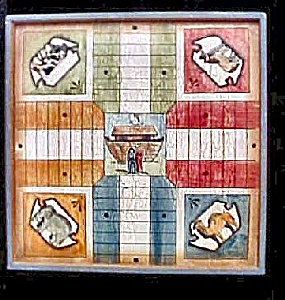 Noahs Ark Wooden Game Board (Image1)