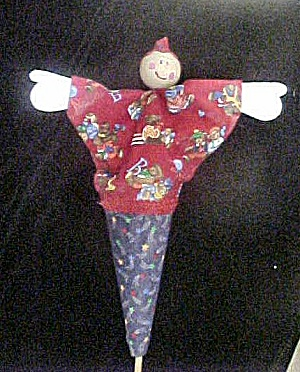 Wood Stick Push Up Doll (Image1)