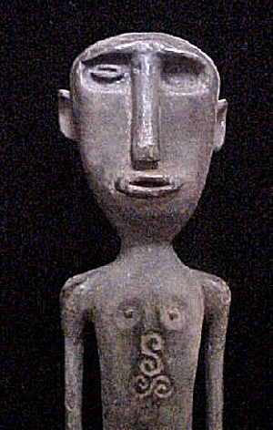 Old Ancestor Figure - West Timor, Indonesia (Image1)