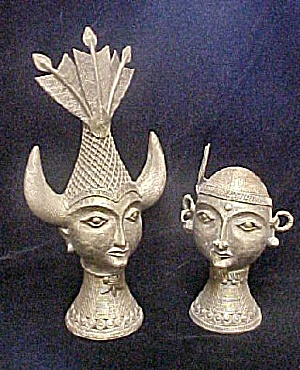Sculpture of Bastar, India Couple (Image1)