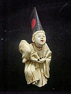 Japanese Kabuki Dancer - Faux Ivory (Image1)
