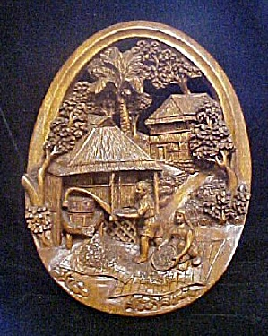 Old World Relief Carving Harvesting (Image1)
