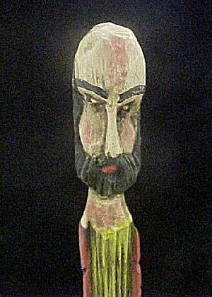 South American Wooden Santos (Image1)