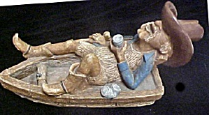 Cowboy Figure - Fishing and Relaxing (Image1)