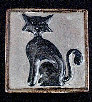 Mexican Cat Ceramic Tile (Image1)