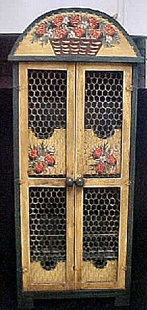 Mexican Wooden Letter Box - Folk Art (Image1)