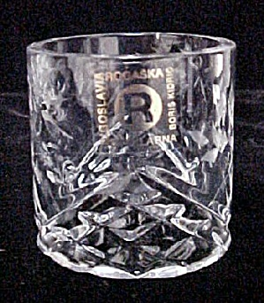 Eight Rogaska Yugoslavia Crystal Napkin Rings (Image1)
