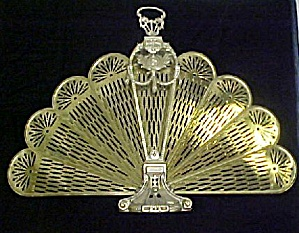 Metal Fan Type Fire Screen (Image1)