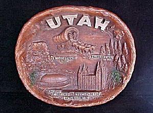Utah Souvenir Plate (Image1)