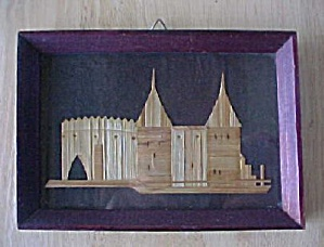 Vintage Bamboo Art of Buildings (Image1)