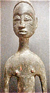 Wooden Djimini Male Figure - Ivory Coast (Image1)