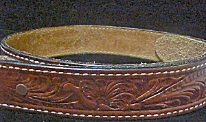 Brown Western Leather Belt (Image1)