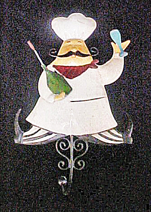 Chef Tin Figural Hook (Image1)
