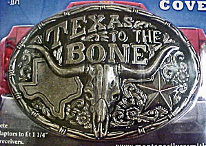 Truck Hitch Cover - Texas To The Bone (Image1)