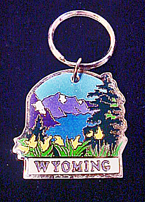 Grand Teton, Wyoming Souvenir Key Chain (Image1)