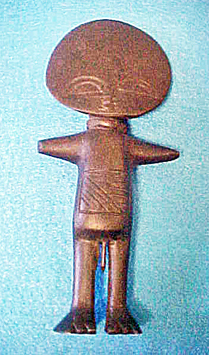 African Ashanti Male Fertility Doll (Image1)