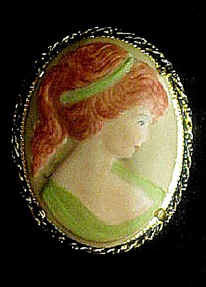 Ceramic Handcrafted Cameo Signed/Dated (Image1)