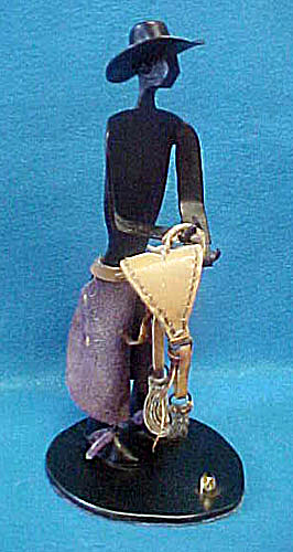 Metal Cowboy Figure - 20th Century