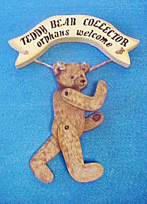 Teddy Bear Collector - Wall Decor (Image1)
