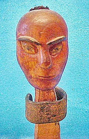 Wooden Carnival Knock Down Figure  (Image1)