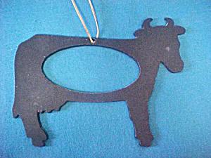 Metal Western Steer Dinner Gong (Image1)