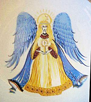Kaiser Angel Shallow Porcelain Bowl (Image1)