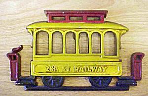 Sexton 28th St. Railway Metal Wall Decor (Image1)