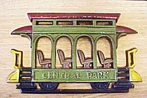 Sexton 1970 Central Park Railway Wall Decor (Image1)