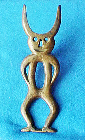 Bronze Devil Boot Jack - Early 20th Century (Image1)