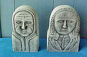 Colonial Bookends - Historical Art - 20 c (Image1)