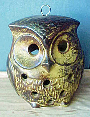 Ceramic Owl Candle Holder (Image1)