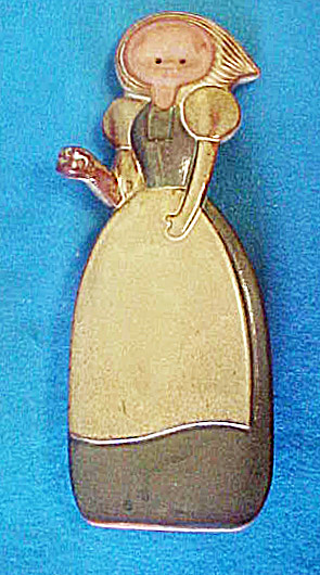 Young Girl Pottery Figure