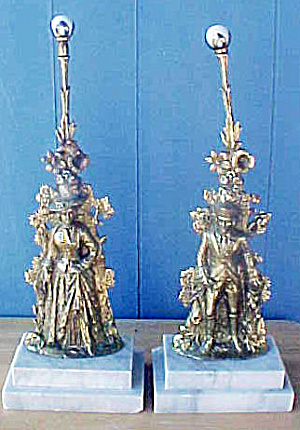 Male/Female Metal Victorian Figures (Image1)