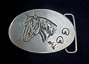 Vintage SS Bitterroot Buckles - Horse Design (Image1)