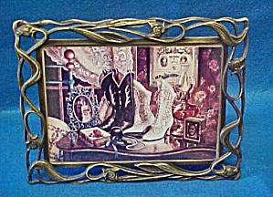 Art Nouveau Style Floral Frame (Image1)
