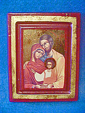 Portrait Style Holy Family - Framed (Image1)