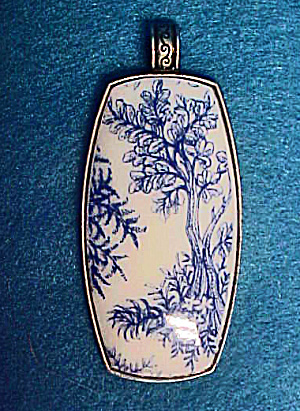 Porcelain Pendant - 20th Century