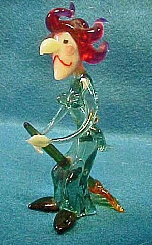 Murano Glass Witch (Image1)