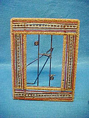 Beaded Victorian Style Picture Frame (Image1)