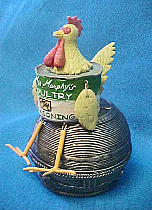 Mrs Murphy's Poultry Seasoning Chicken Figure (Image1)