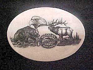 Montana Centennial Engraved Belt Buckle (Image1)