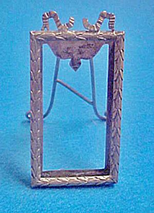 Pair Antique Art Nouveau Silver Frames (Image1)