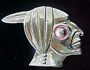 Indian Motorcycle Figural Bike Ornament (Image1)