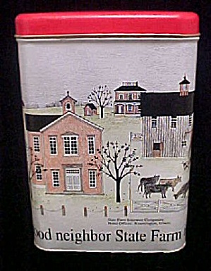 State Farm Is There - Tin Container (Image1)