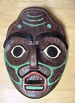 Shark Woman w/Lip Labret Mask by Shamans (Image1)