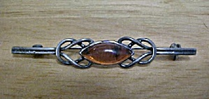 Vintage Silver-Toned Celtic Style Pin (Image1)