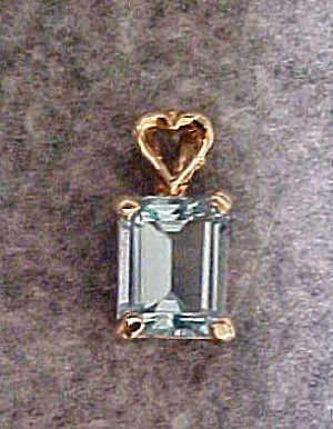 Emerald Cut London Blue Topaz (Image1)